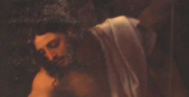 le loup menacant Jesus